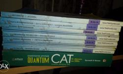 - Unused full test funda CAT prep material along with