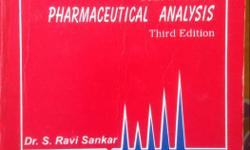 Text book of Pharmaceutical Analysis By Dr S Ravi