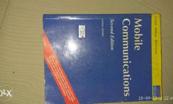 Textbook for mobile communication for BTECH students 2g