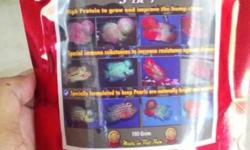 The best ever imported food for you flowerhorn at its