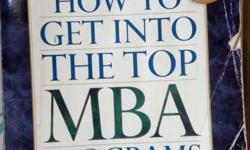 "The best seller book for MBA admission strategy - ""How"