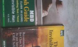the invisible man novel with guide book(hindi