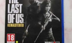 The Last of us remastered ps4 is for sale or for