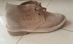 These are Brand New Safari Shoes made in Africa.shoe
