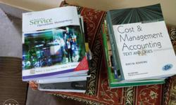 These are Management books, all books are available