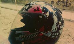 Thh helmet 4 month old if interested call me or