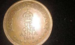 This coin was made by East India Company .This is UK