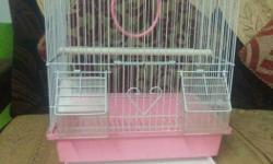 this is a bird cage it is having a tray to clean and 2