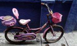 this is a girly cycle which can be used by 5+ aged