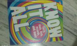 "This is a DK book ""Know it all"". It's real price is"