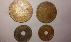 this is coins of Hyderabad nijam sansthan of year