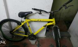 This is Hercules TURBODRIVE bicycle, repainted to