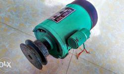 This is induction motor working good condition , no eny