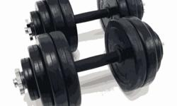 This is premium quality 30kgs solid rubber dumbbells.