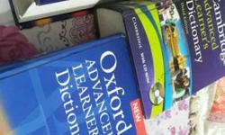Three Assorted Dictionary Books. it may be sale