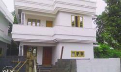 Three bed house ,3cent,1400sq.ft,40lakhs,aluva cochin