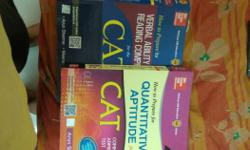 Three CAT Textbooks by Mc Graw Hill Education Plb.