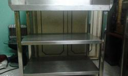Three Layers Stainless Steel Rack