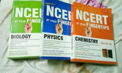 Three NCERT Biology, Physics And Chemistry guides