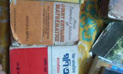 Old maths book for the students of class 11 & 12 and