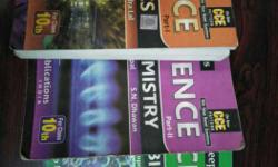 Three Science Books of class 10th , in a very good
