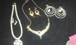 Three Sets Of Jewelries