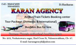 AIR / TRAIN / BUS TICKETS BOOKINGALSO DOING