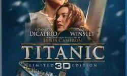 Titanic limited edition 3d movie i have many 3d movies