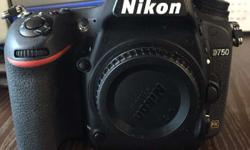 To sell : Nikon D750 (body only) - 10 months old with