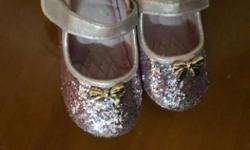 Toddler's Silver Flats