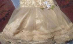 Toddler's Gold-colored Dress