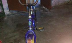 Toddler's Purple Bicycle