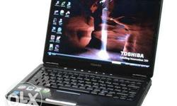 toshiba satellite u 400 250 HDD 3GB RAM GUD BATTERY