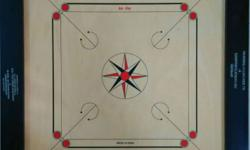 TOURNAMENT STANDARD CARROM BOARD Approved by All India