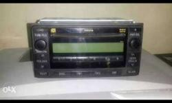 Toyota fortuner double din music system for sale very