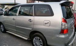 toyota innova g4 2007 silver colour 136000 kms done