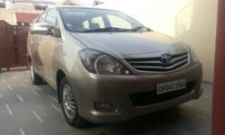 Its a very good condition toyota innova 2.5 g4 8 seater