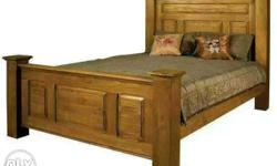 Made of solid wood.. With natural wooden finish...