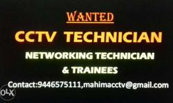Trainees & experienced Technicians