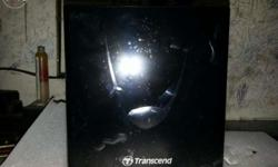 New transcend portable cd/dvd writer 8XDVDRW Not used.
