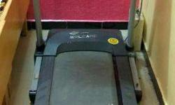 Welcare brand ,motorised tread mill ,best model , 3 yrs