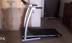 Treadmill from Welcare, model WC300B. Used by a single