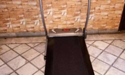 treadmill motorized in showroom condition use only 2 or