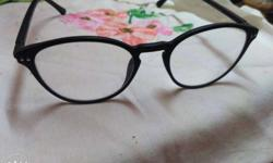 trendy glasses. 0 number. stylish. actual price 2500