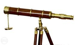 28 inches height telescope with 2 km long view. it