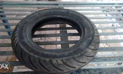Tubeless tyres mrf of hero pleasure skuty...only four
