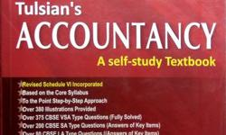 Tulsian's Accountancy Textbook Class 12 CBSE Part A and
