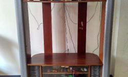 Selling my wooden TV unit. It was bought from Reliance