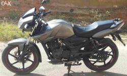 Tvs Apache RTR 160 cc, Single hand, good condition,Grey
