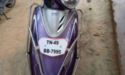 TVS Scooty 10000 Kms 2014 year